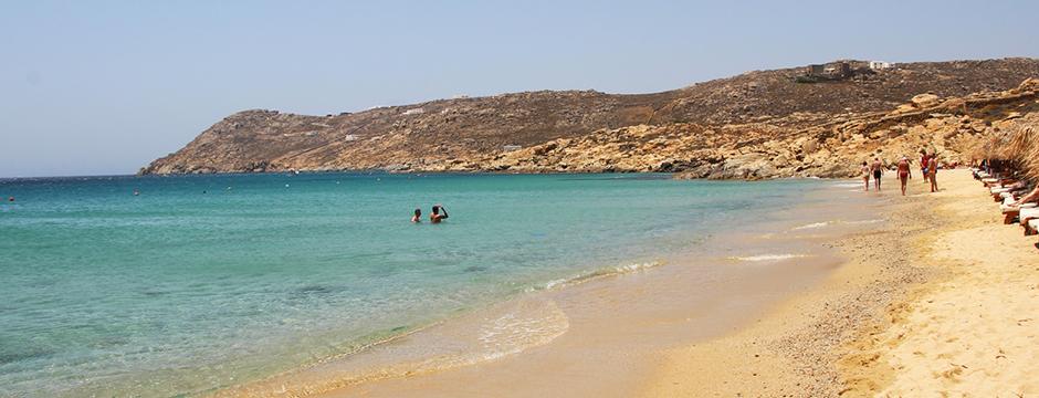 Spiaggi di Agrari Mykonos