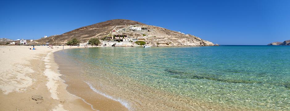 Spiaggia di Mykonos Ftelia Beach